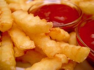 Fries smaller