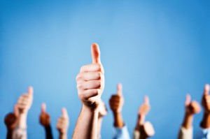 Group Thumbs Up
