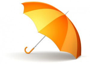 Orange Umbrella2