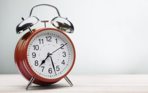 tick tock the most important factor in sponsorship is time