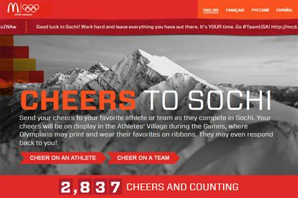 Cheers to Sochi Maccas