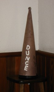 Olympic ambush marketing enforcement gets ridiculous for Dunce hat template