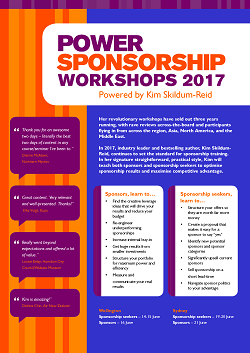 Power Sponsorship Workshops Brochure