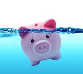 Drowning piggy bank_sm