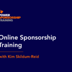 online sponsorship training with Kim Skildum-Reid